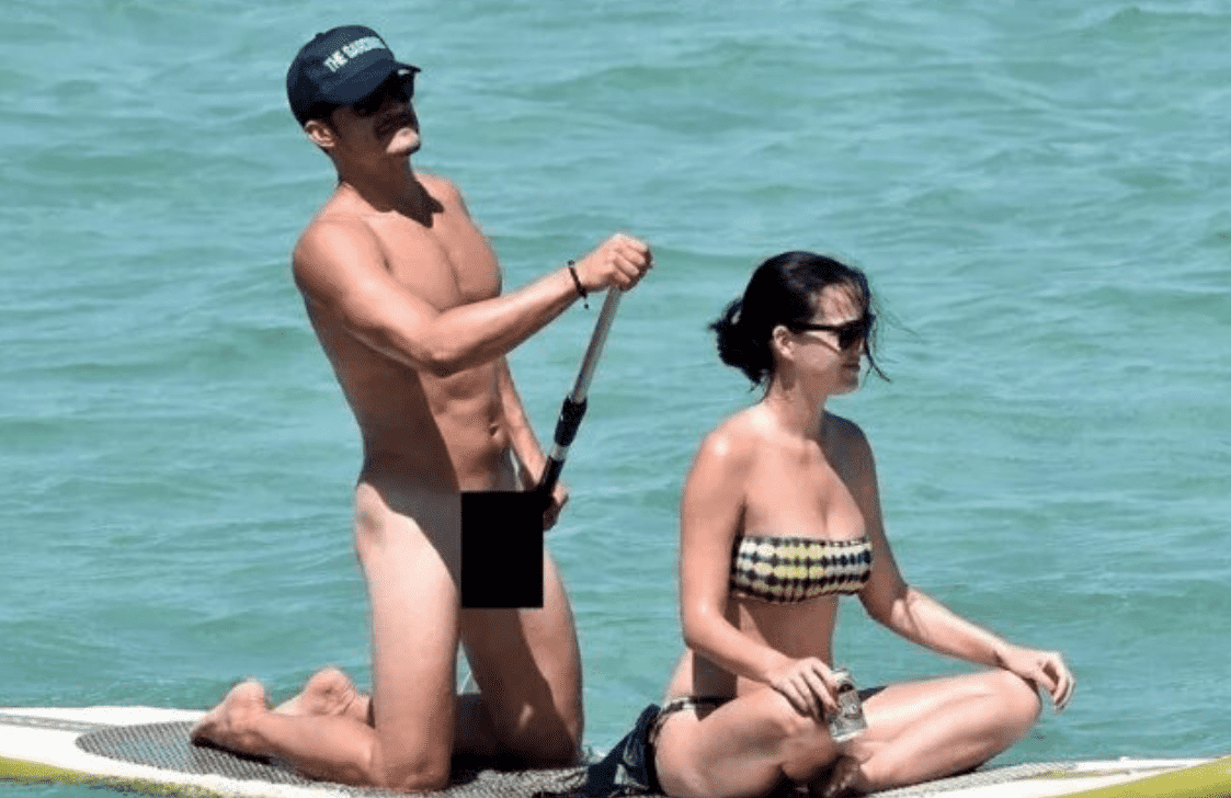 Orlando Bloom Goes Paddleboarding Again — but Hes Not Naked