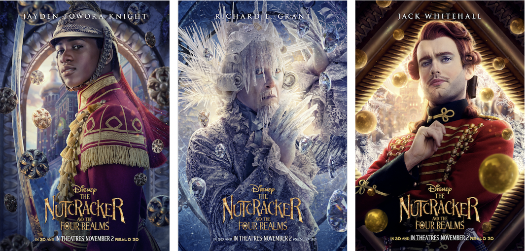 The Nutcracker and the Four Realms will release in theaters on November 2