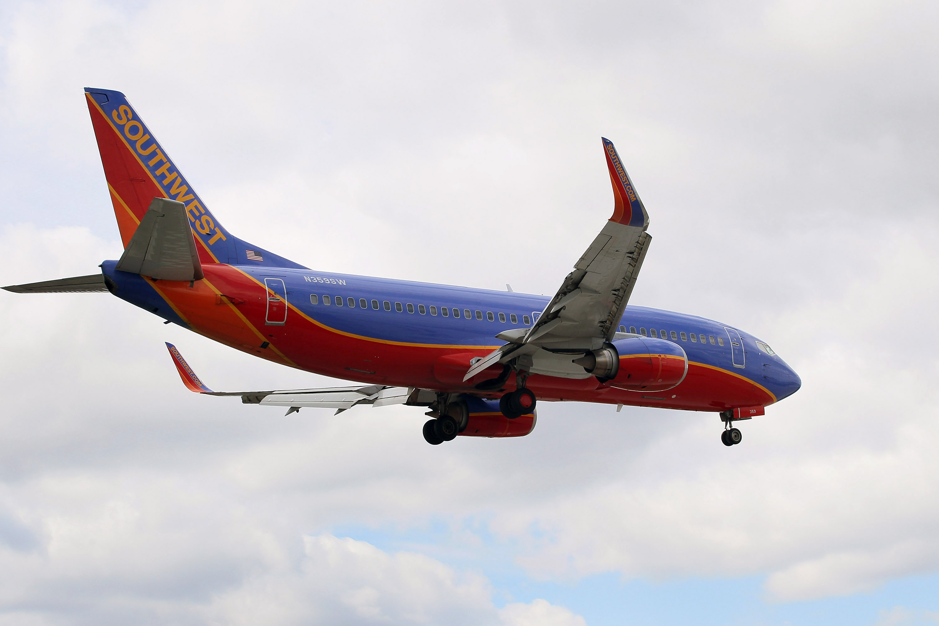 The incident occurred on a Southwest Flight between Houston and Albuquerque (Source: Scott Olson/Getty Images)
