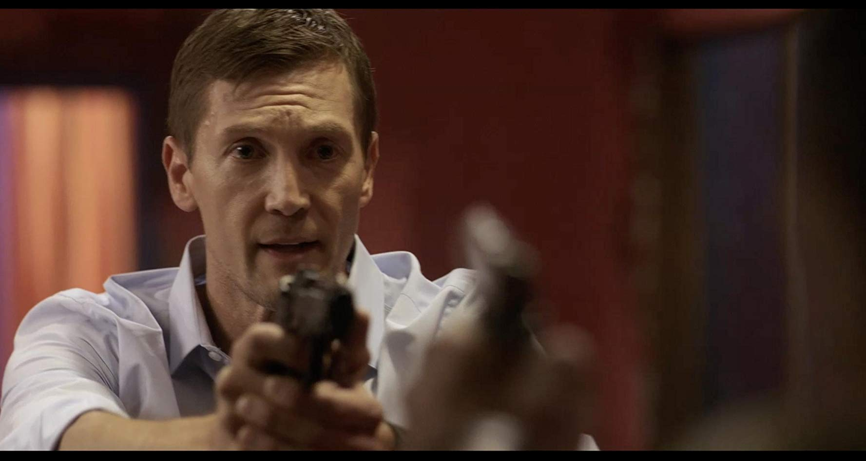 Adam Ambruso as officer Randy in 'Butterfly Caught'. (IMDb)