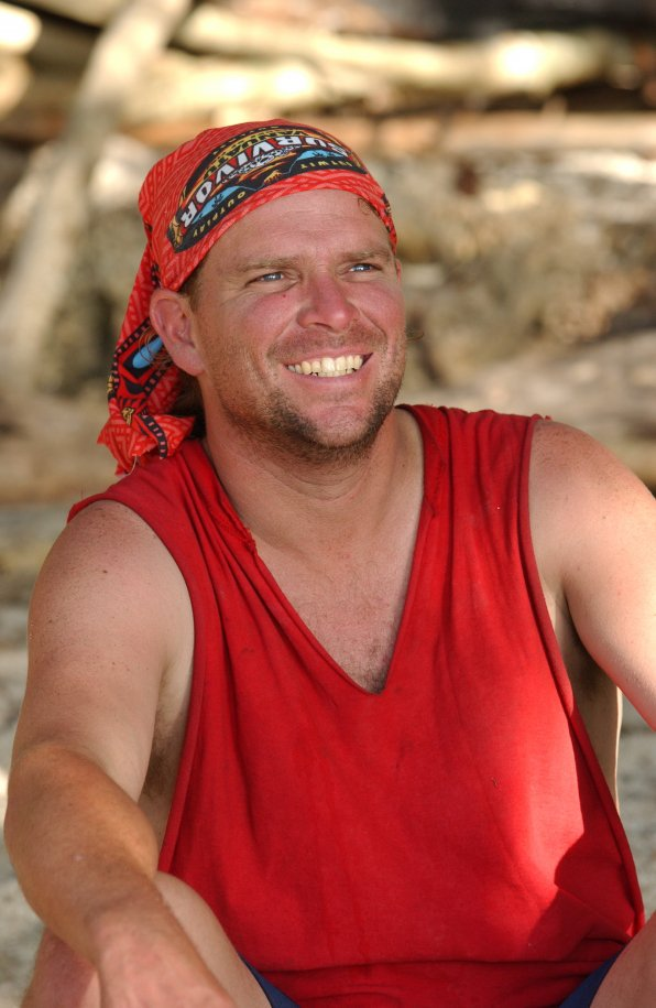 Chris Daugherty had returned to his work in construction after his 'Survivor' stint in 2004. (Twitter)
