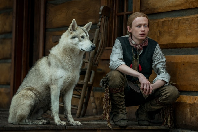 Rollo, John Bell (Young Ian) - Outlander Episode 410 (Starz)
