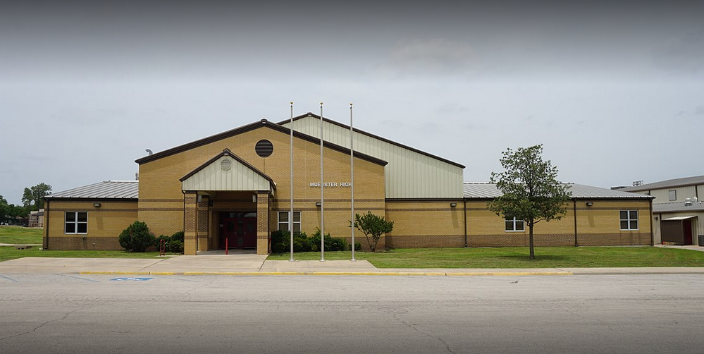 Burge was fired from her position at the Muenster High School (Source: Google Maps)
