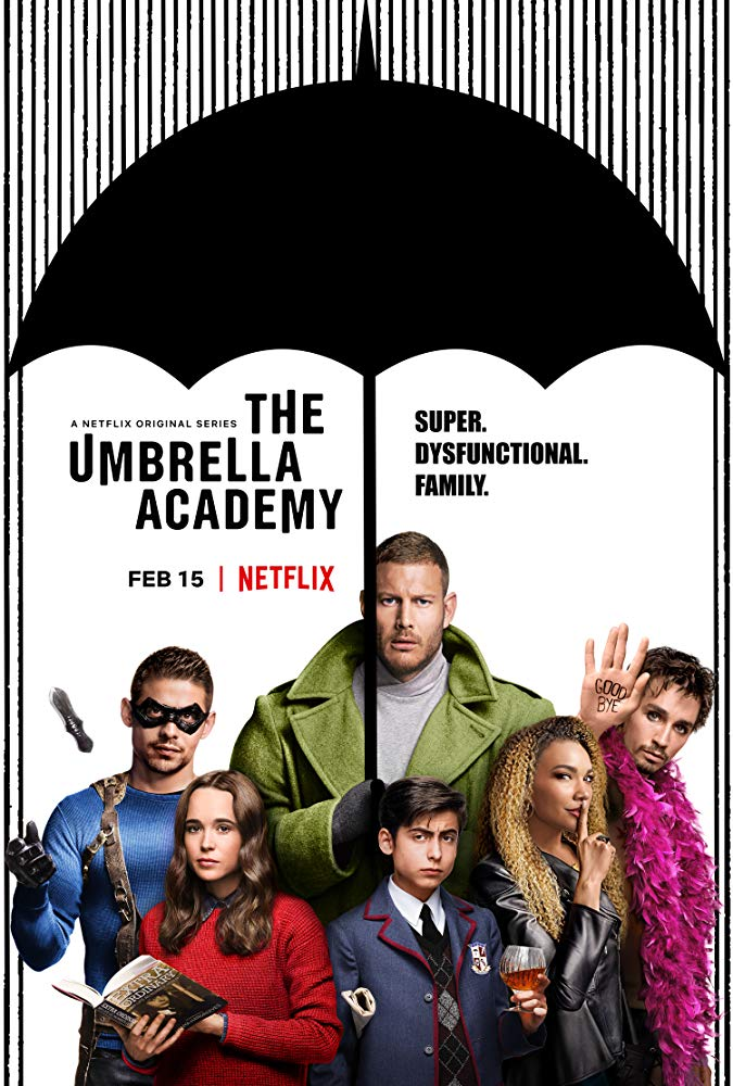 'The Umbrella Academy' Poster. Source: IMDB