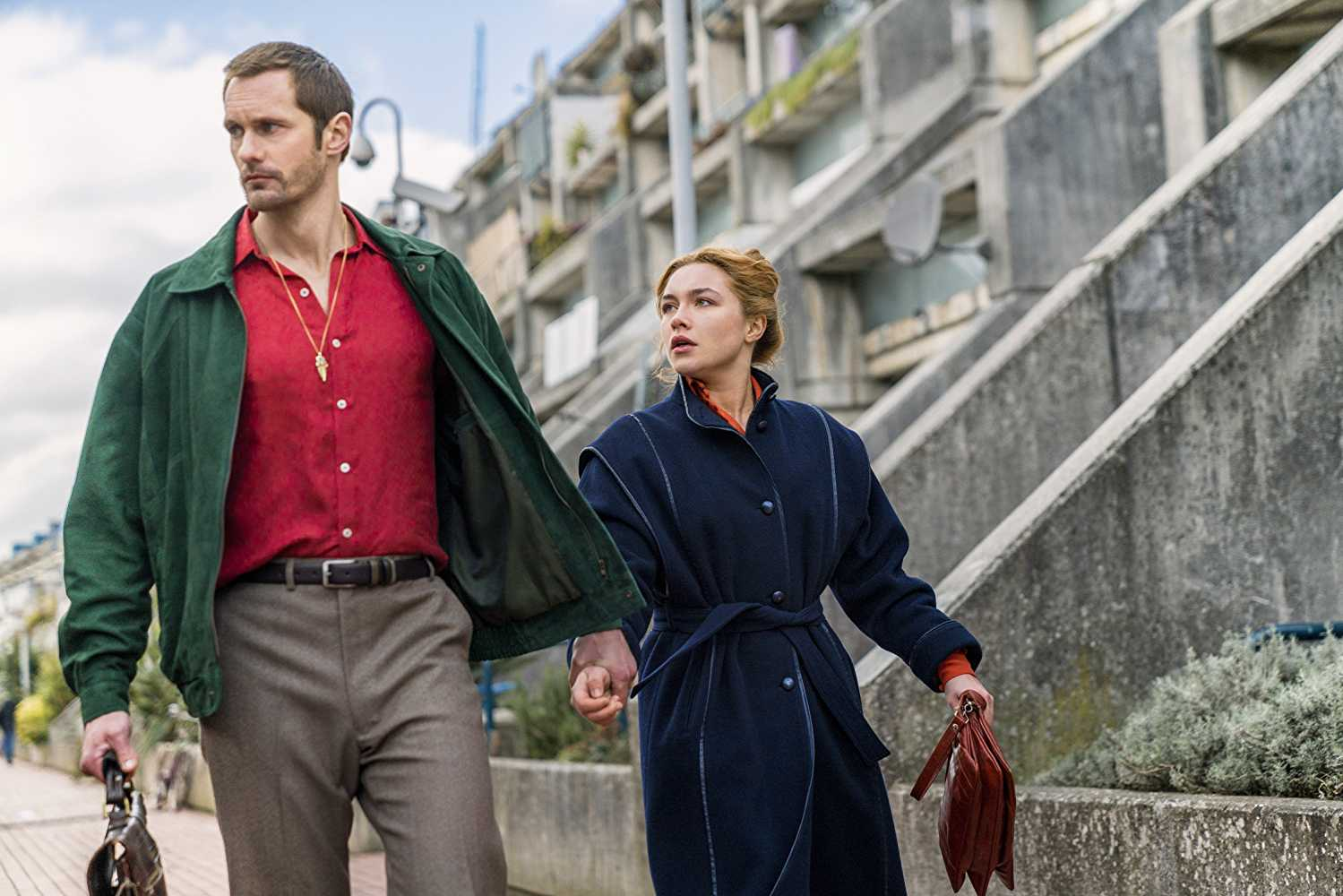 Skarsgard plays the role of an extremely complicated character in 'The Little Drummer Girl'. (IMDb)