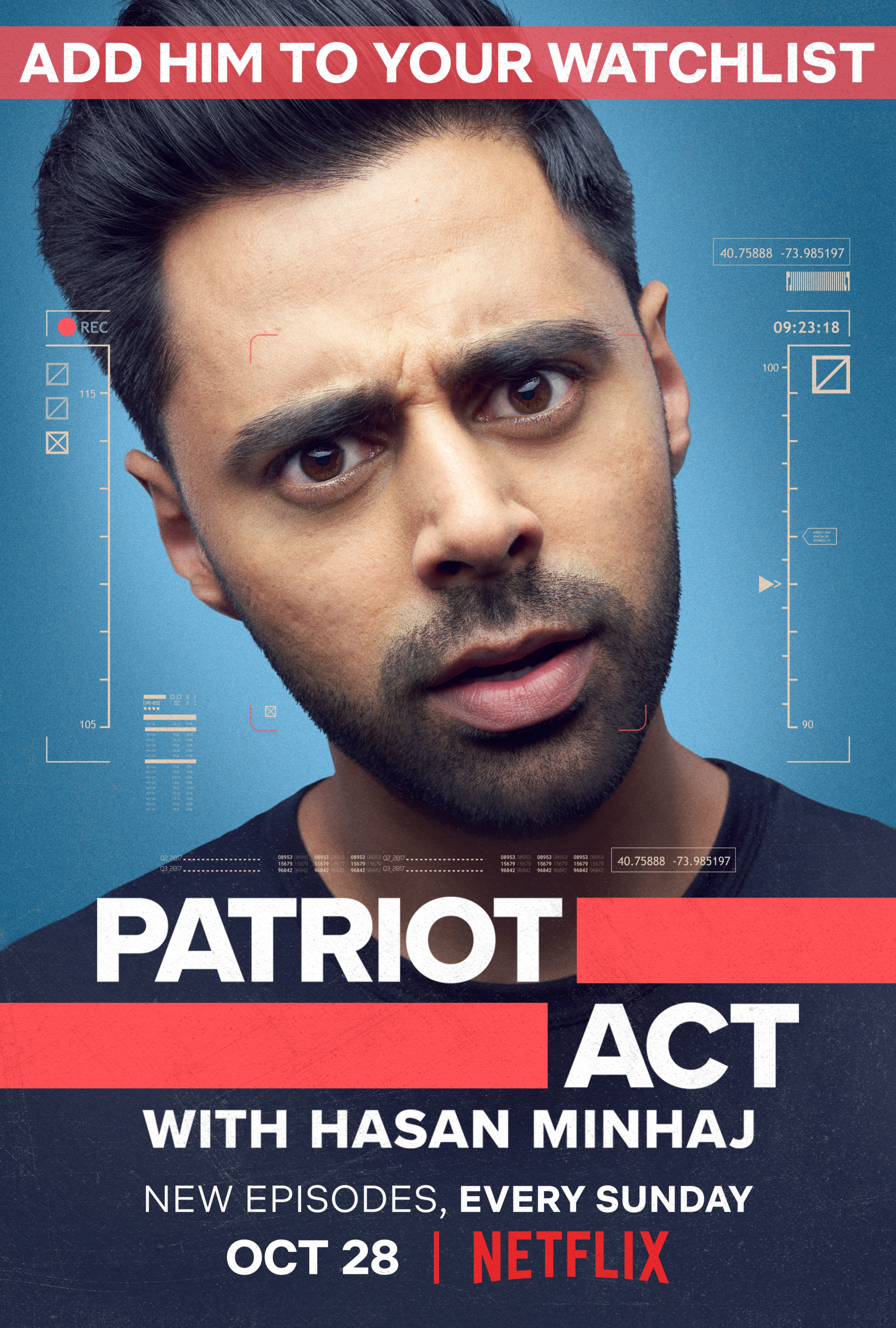 Hasan Minhaj in Patriot Act (Netflix)