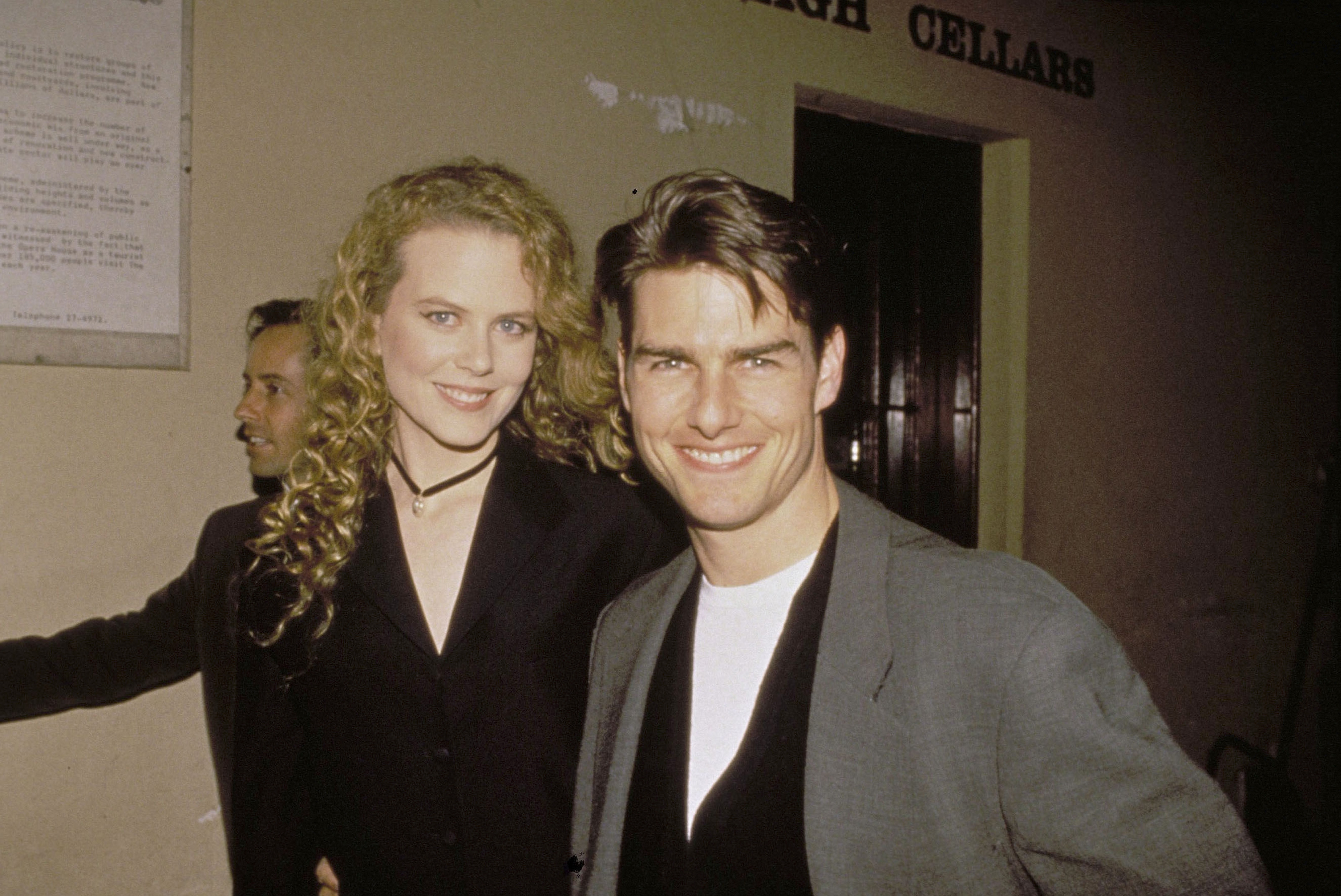 AUSTRALIAN ACTRESS NICOLE KIDMAN AND ACTOR HUSBAND TOM CRUISE OUT IN SYDNEY.