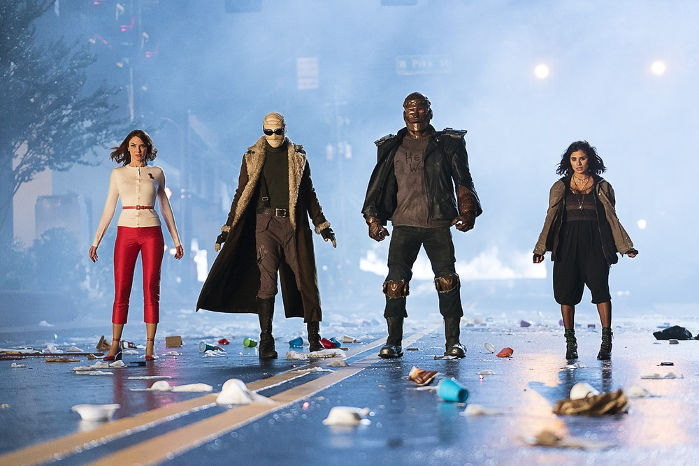 Doom Patrol Team in DC's 'Doom Patrol'. (Source: WBTV)