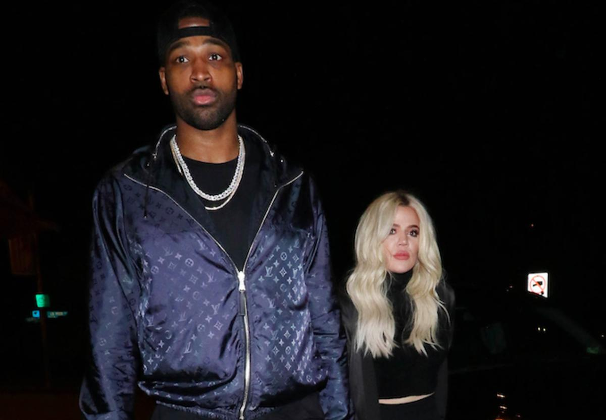 Khloe Kardashian and Tristan Thompson are seen on January 13, 2019, in Los Angeles, CA. (Photo by Hollywood To You/Star Max/GC Images)
