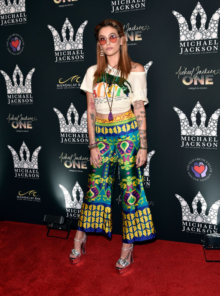 Paris Jackson attends the Michael Jackson diamond birthday celebration at Mandalay Bay Resort and Casino on August 29, 2018, in Las Vegas, Nevada. (Photo by David Becker/Getty Images)