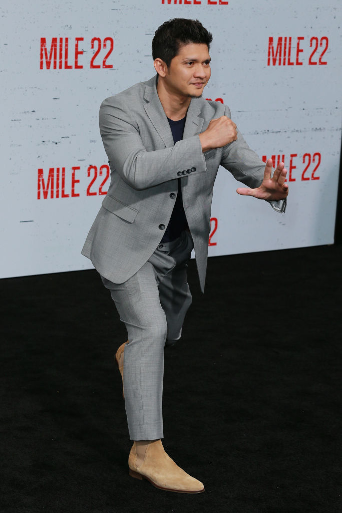 Iko Uwais attends the Premiere Of STX Films' 'Mile 22' at Westwood Village Theatre on August 9, 2018 in Westwood, California. (Photo by Leon Bennett/Getty Images)