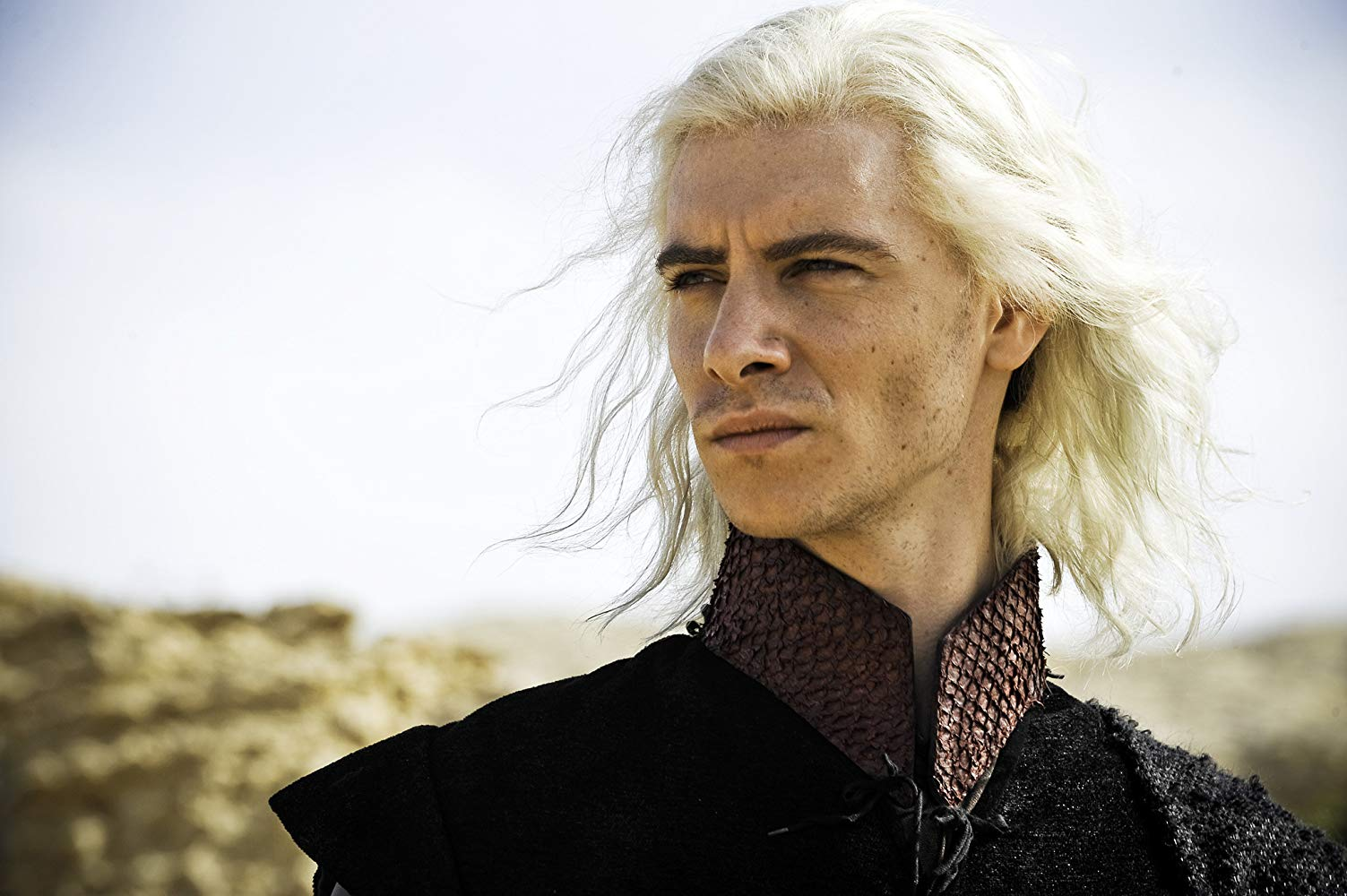 Harry Lloyd as Viserys Targaryen in 'Game of Thrones'. (Source: IMDB)
