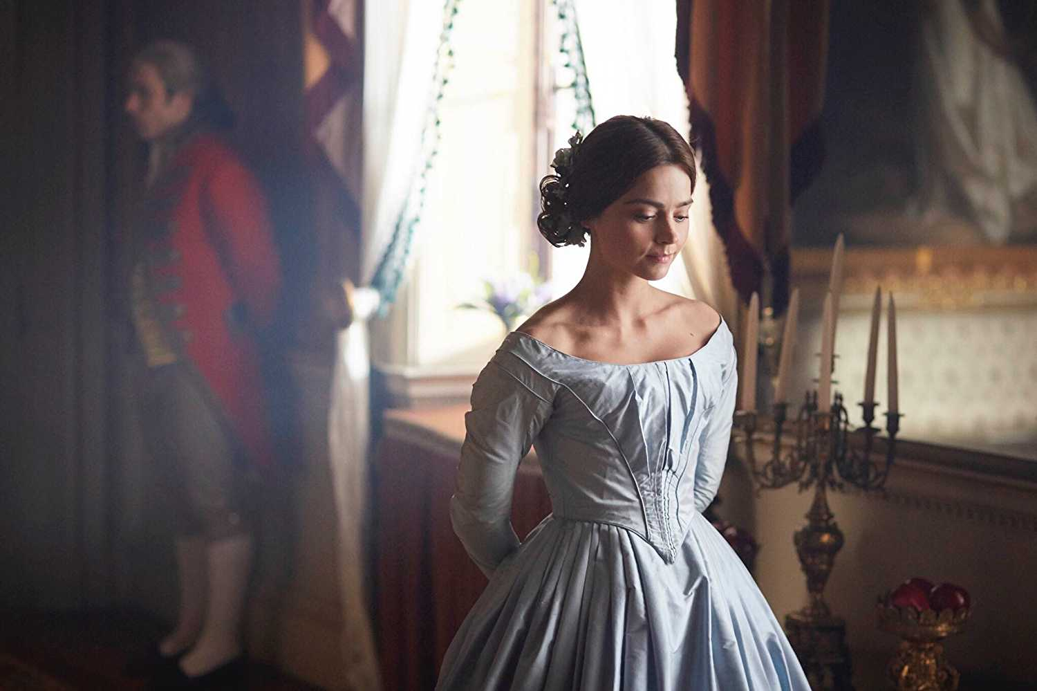Coleman played the young Victoria who became Queen at the age of 18. (IMDb)