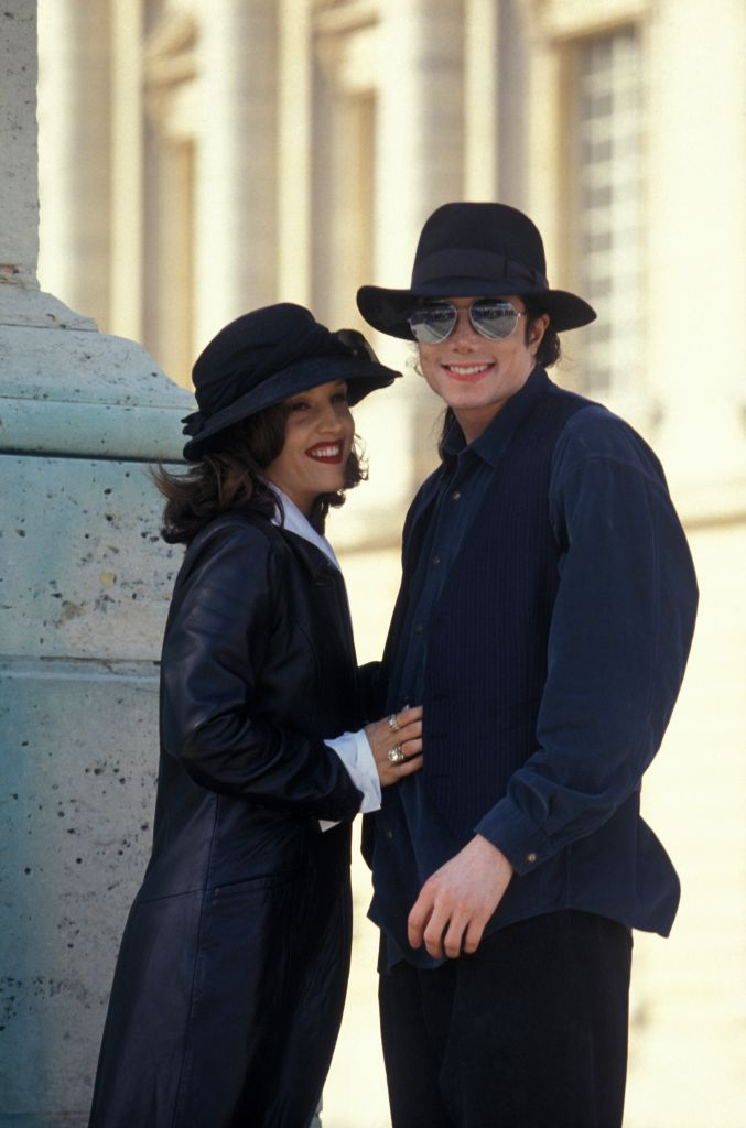 Lisa Marie Presley and Michael Jackson (Getty Images)