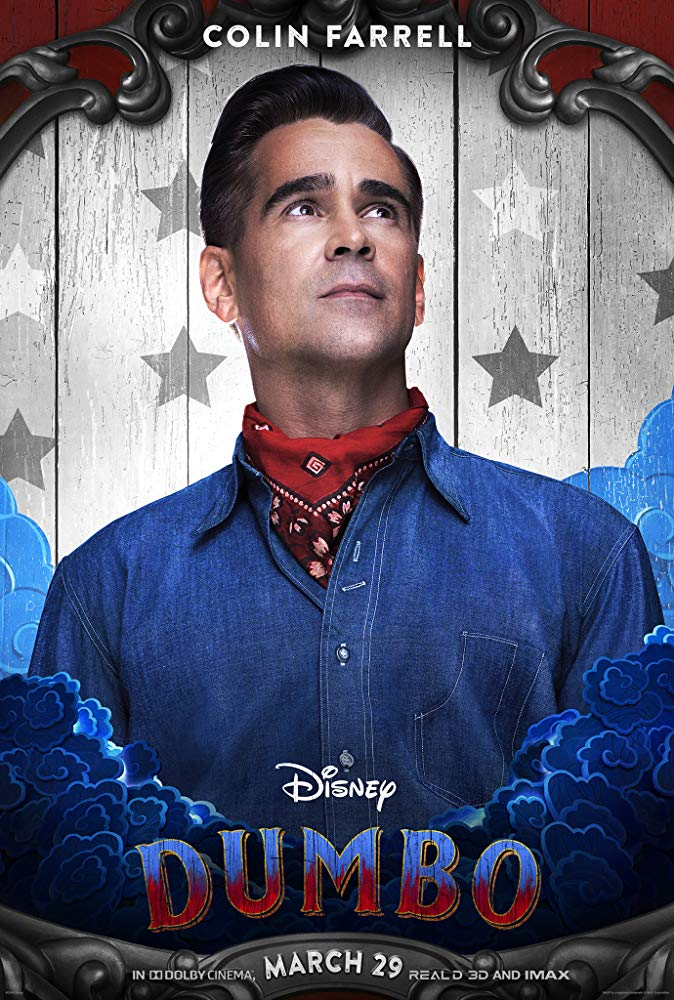 Colin Farrell plays the role of Holt in 'Dumbo'. (Source: IMDb)