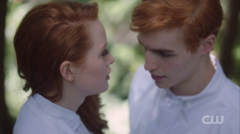 Cheryl and Jason Blossom in Season 1 (Twitter)