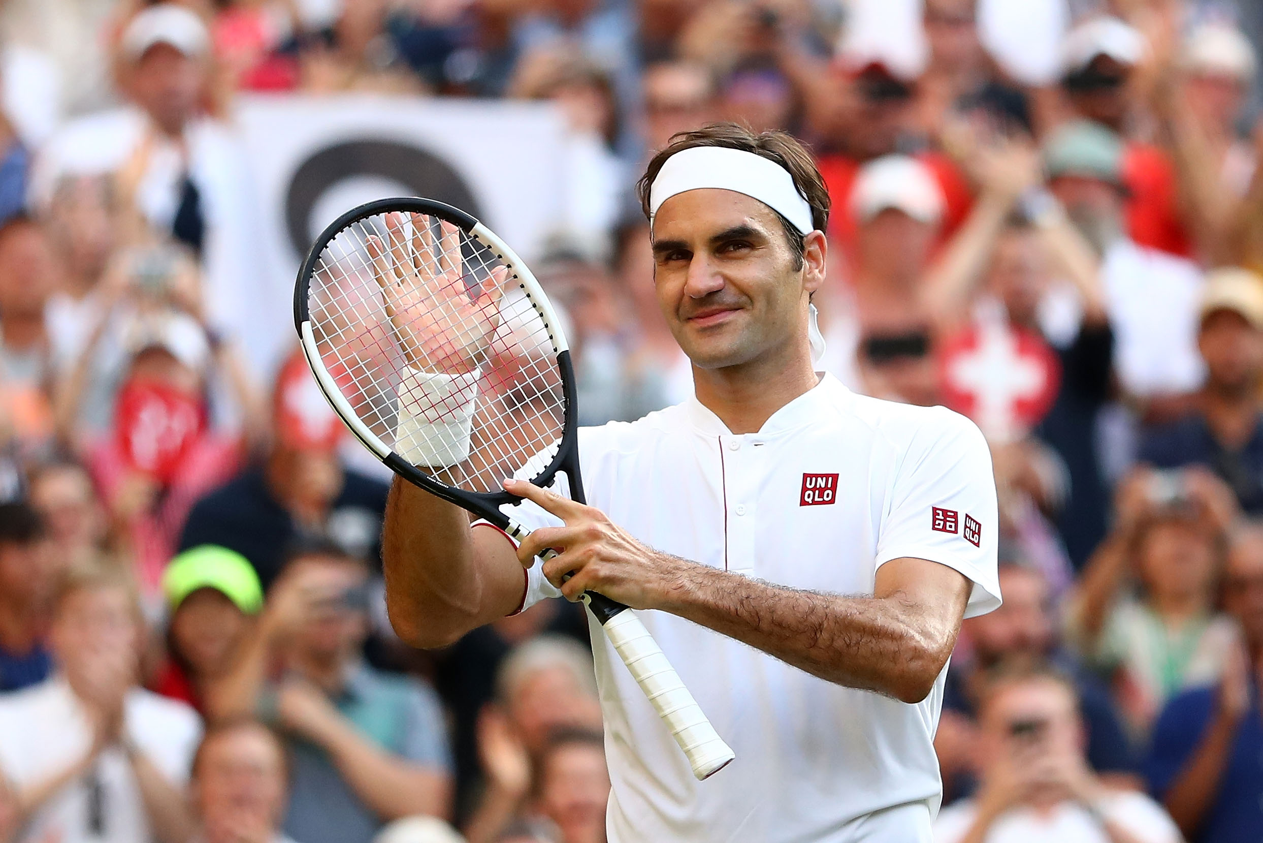 Roger Federer of Switzerland (Source: Getty Images)