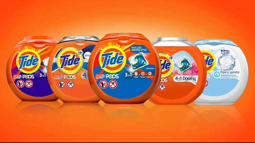 One of the company's well-known products is Tide. (Facebook)