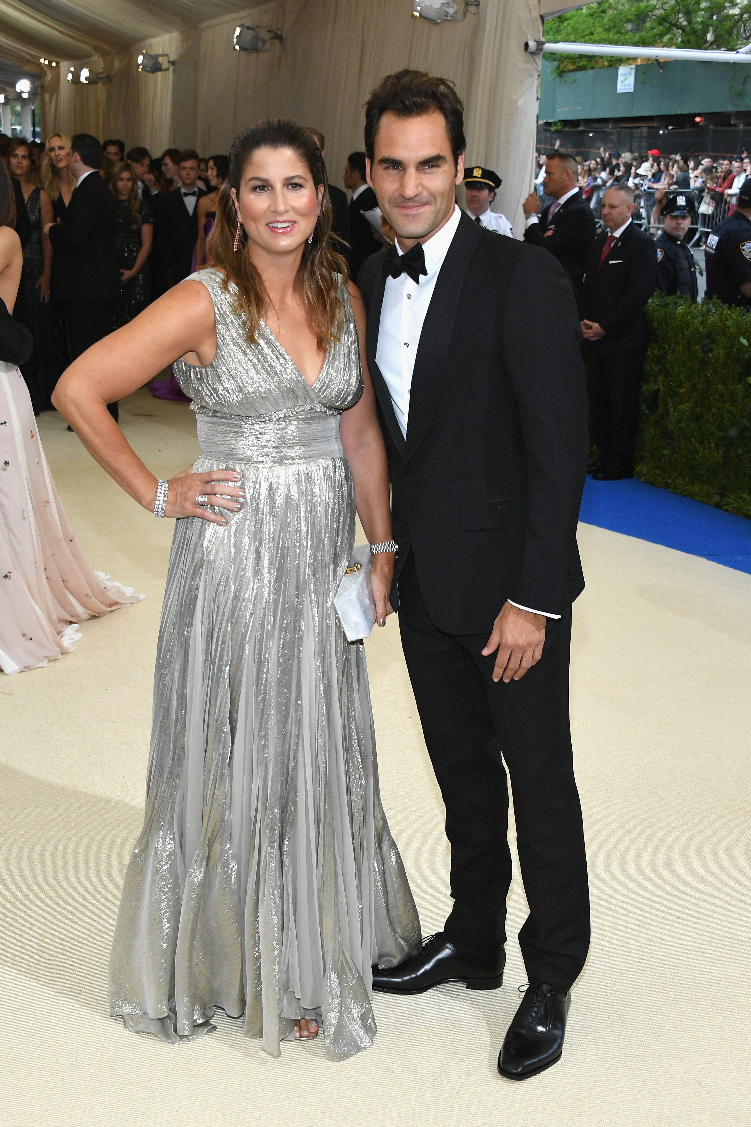 Roger Federer insists on sharing his bed with wife Mirka. (Image Source: Getty Images)