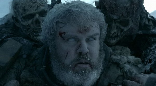 Bran warging into Hodor in 'Game of Thrones'. (Source: IMDB)