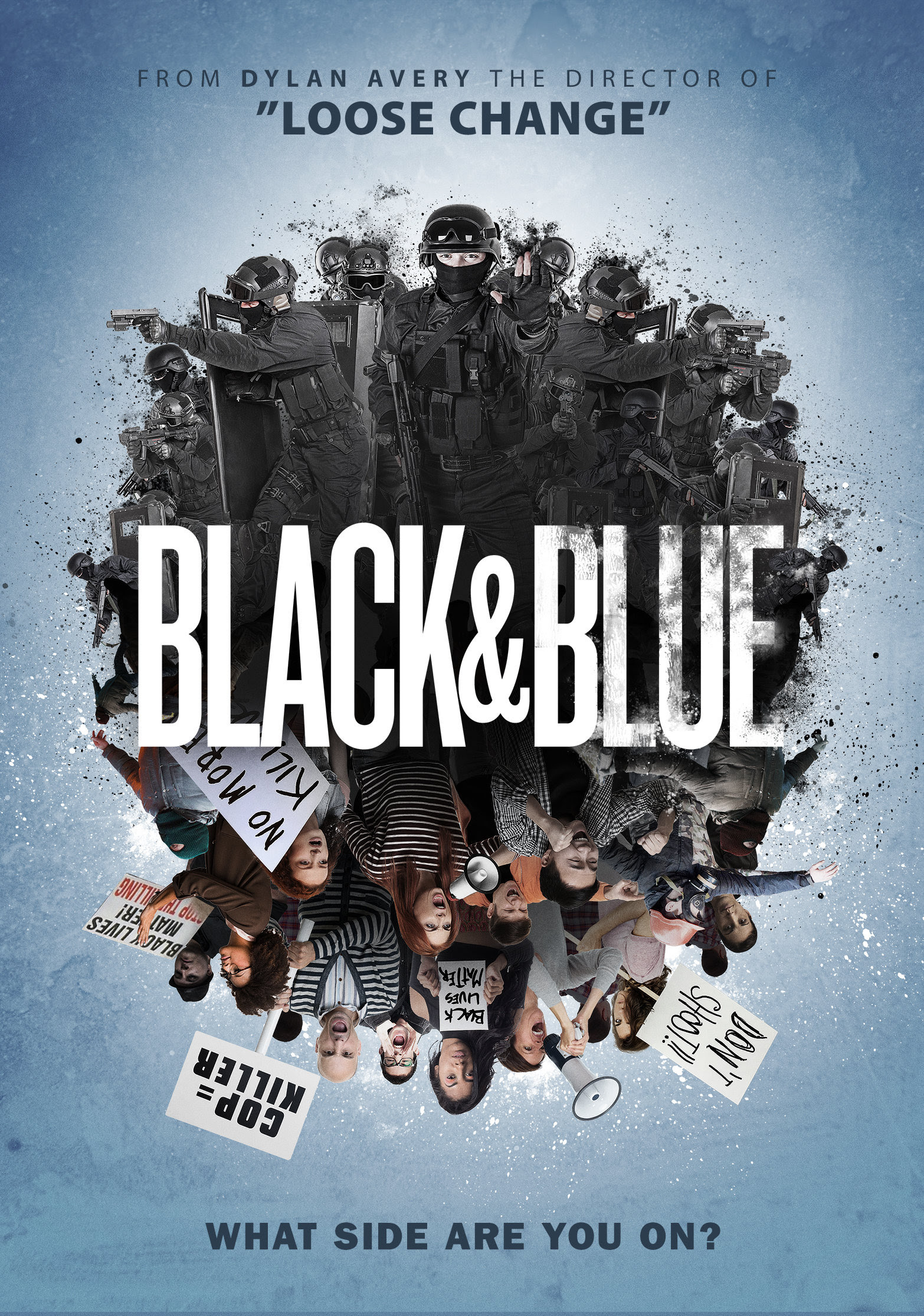 Poster for Black n' Blue, which premiered November 1st on Amazon Digital (Prime and Instant). (October Coast Publicity)