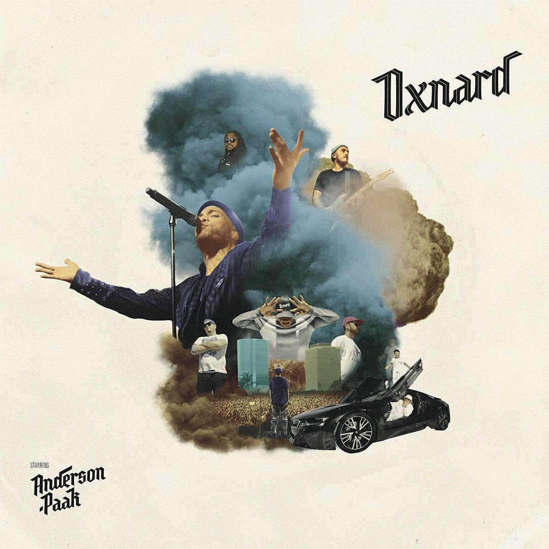 Album art for Anderson .Paak's forthcoming LP 'Oxnard' (Photo Credit: Aftermath Entertainment)