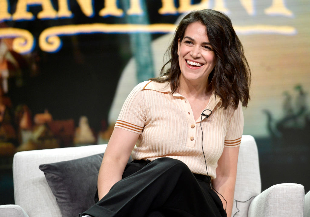 Abbi Jacobson of 'Disenchantment' speaks onstage during Netflix TCA 2018 at The Beverly Hilton Hotel on July 29, 2018 in Beverly Hills, California. (Photo by Matt Winkelmeyer/Getty Images for Netflix)