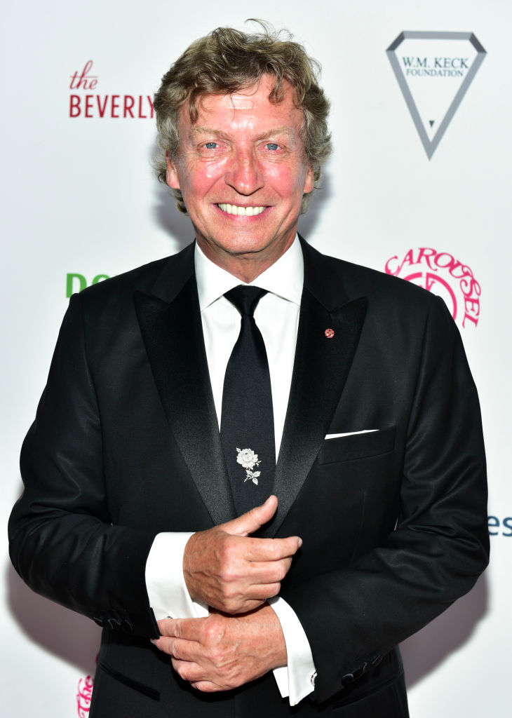 Nigel Lythgoe attends the 2018 Carousel of Hope Ball at The Beverly Hilton Hotel on October 6, 2018 in Beverly Hills, California. (Photo by Rodin Eckenroth/Getty Images)