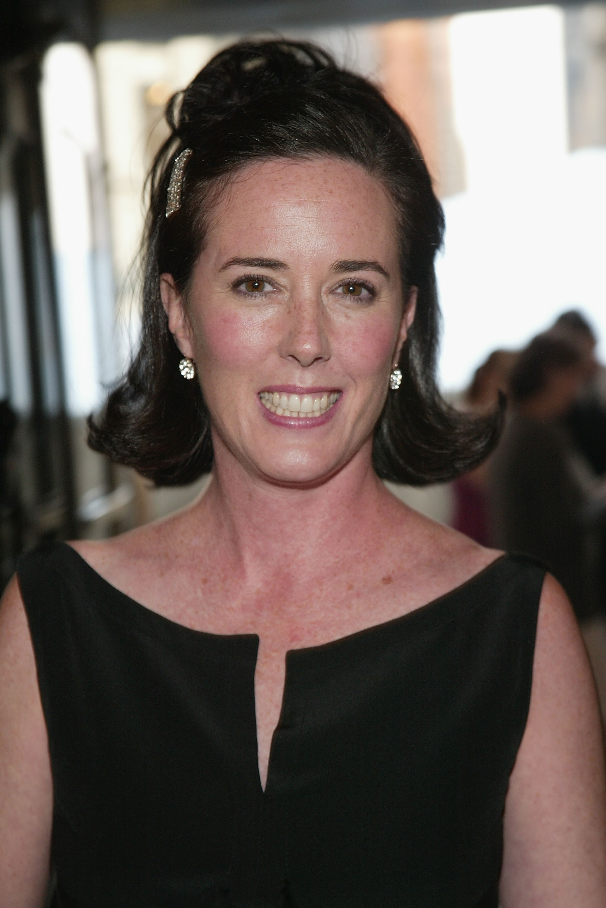 Designer Kate Spade attends the '2004 CFDA Fashion Awards' at the New York Public Library June 7, 2004 in New York City.