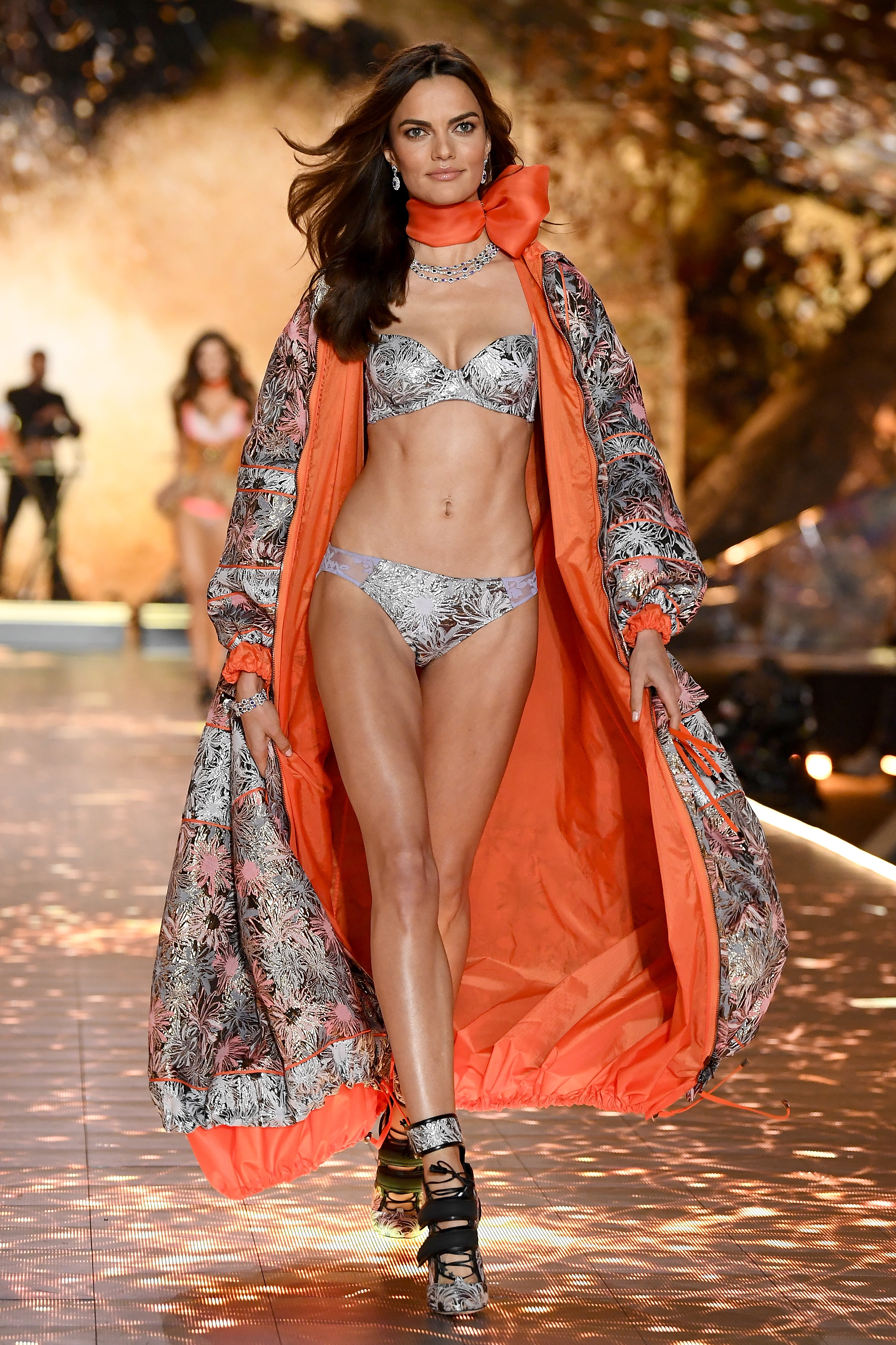 Barbara Fialho walks the runway during the 2018 Victoria's Secret Fashion Show at Pier 94 on November 8, 2018, in New York City. (Getty Images)