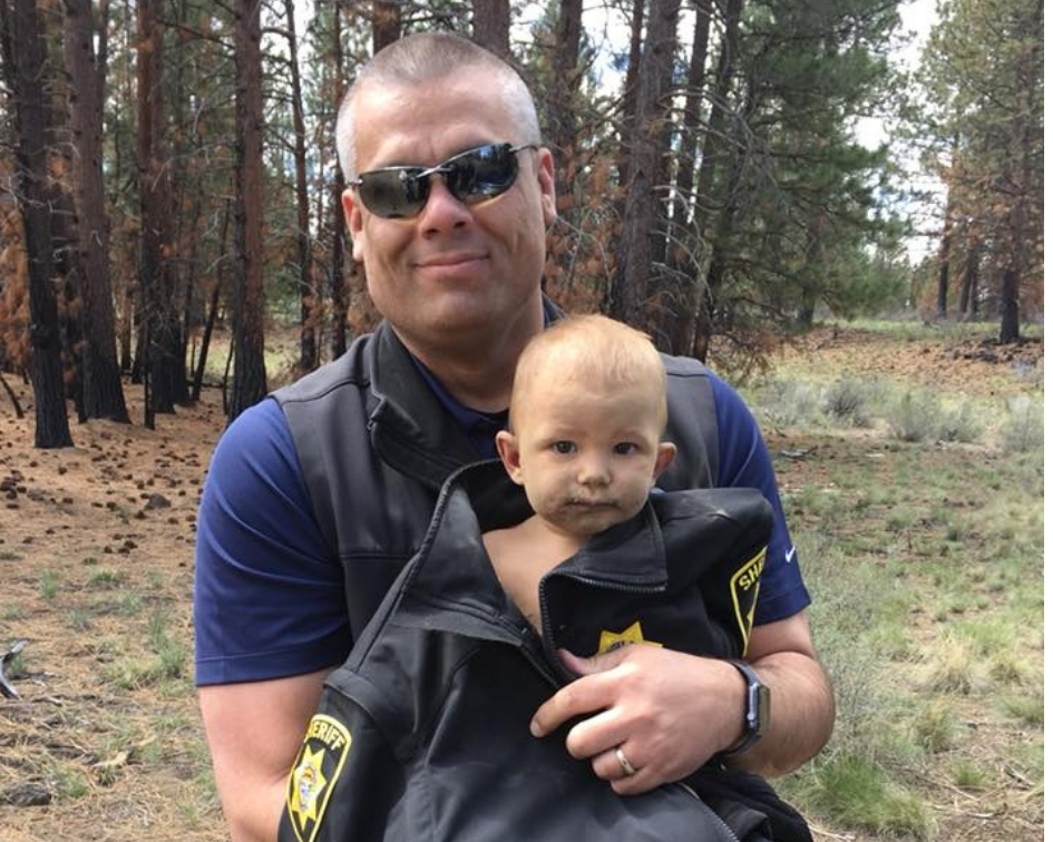 It was previously reported that the one-month-old was found lying in the dirt near a fence post in the area of Sholes Road and Tekampe Road, in southeast Bend. (Deschutes County Sheriff's Office Oregon)
