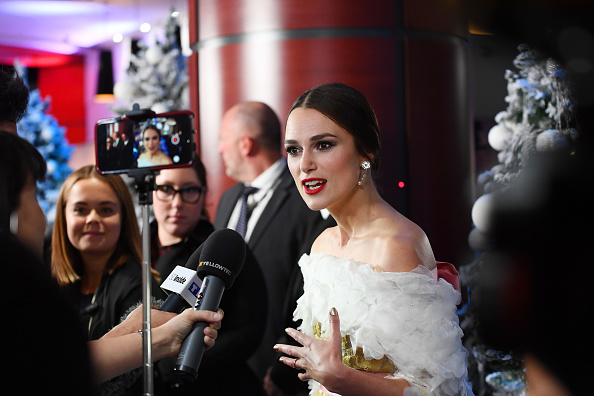 Keira Knightley attends the UK Premiere of Disney's 'The Nutcracker And The Four Realms (Source: Getty Images)