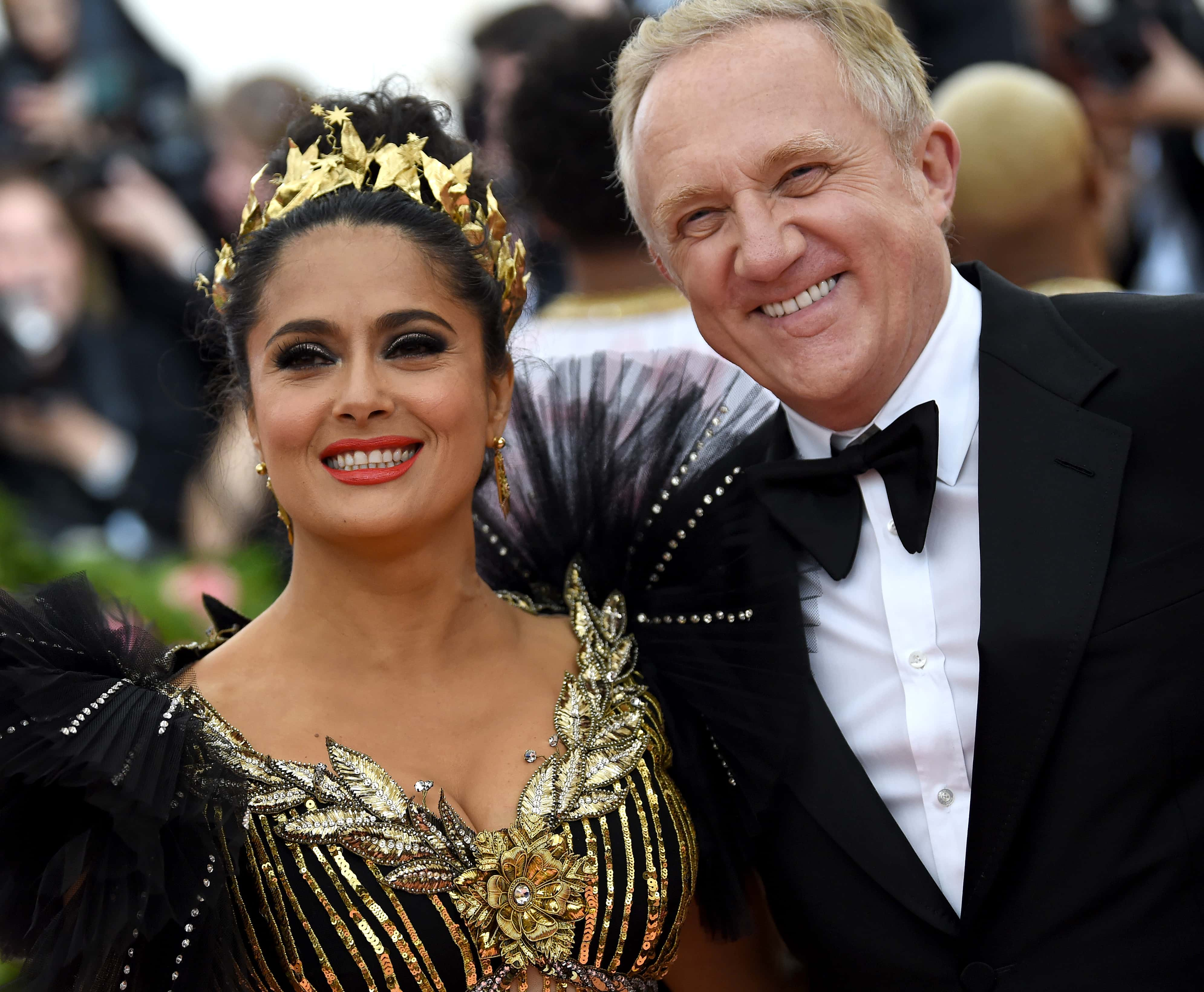 Who Is Salma Hayek S Billionaire Husband Here S All You Need To