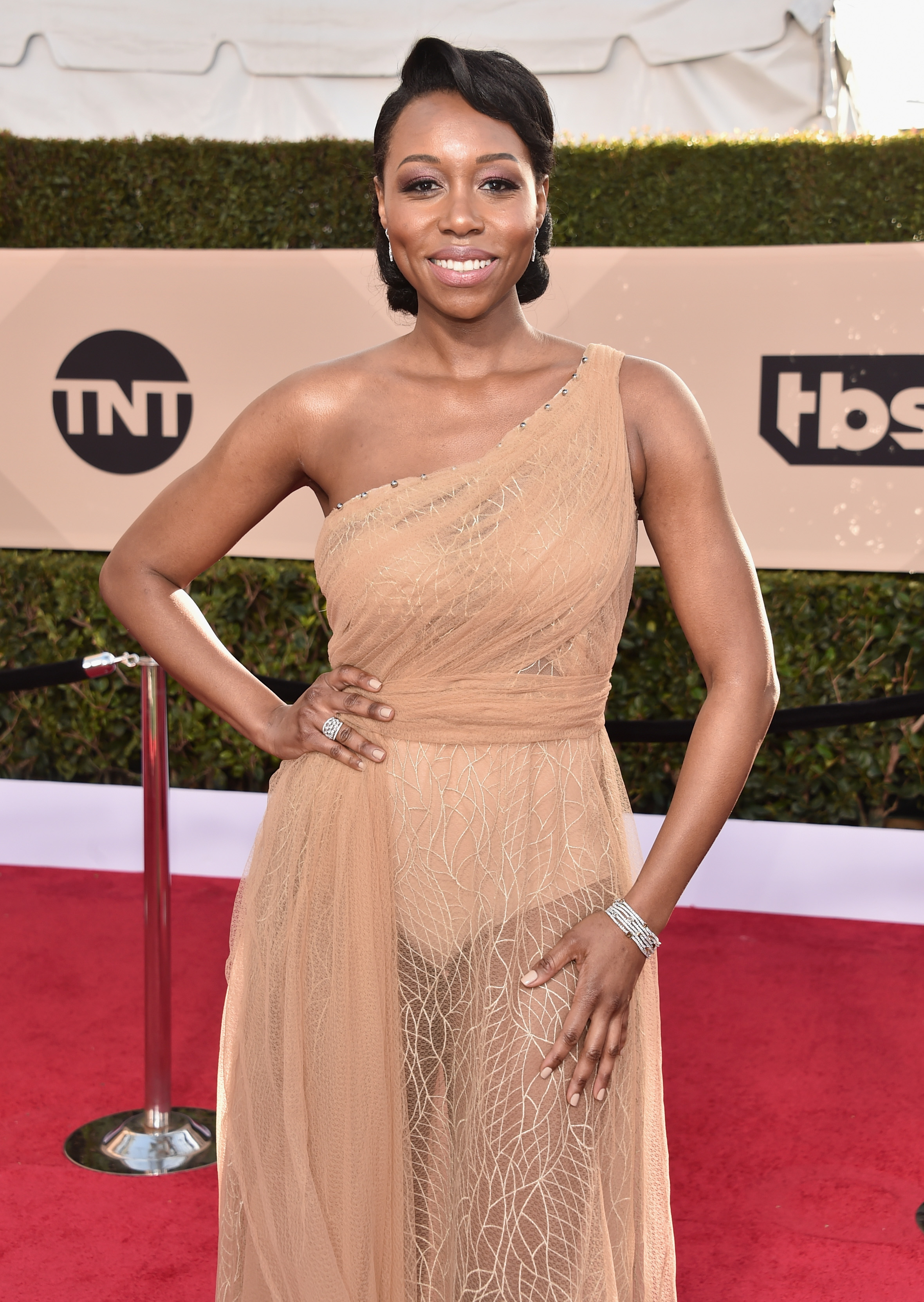 Actor Amanda Warren says that while she feels empowered by the MeToo movement, it remains to be seen what longlasting impact it will actually have on Hollywood (Getty Images)