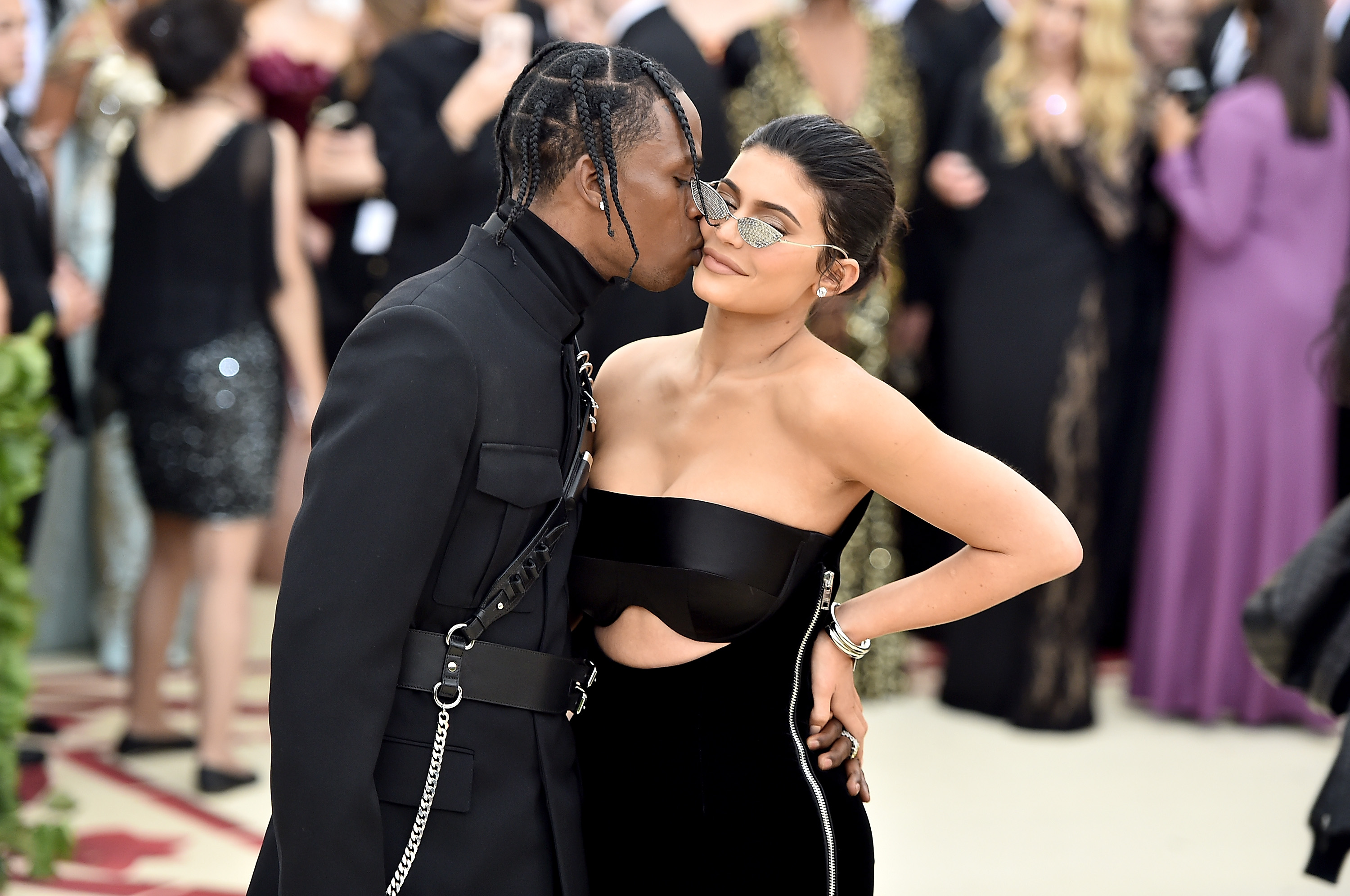 Travis Scott and Kylie Jenner (Source: Getty Images )