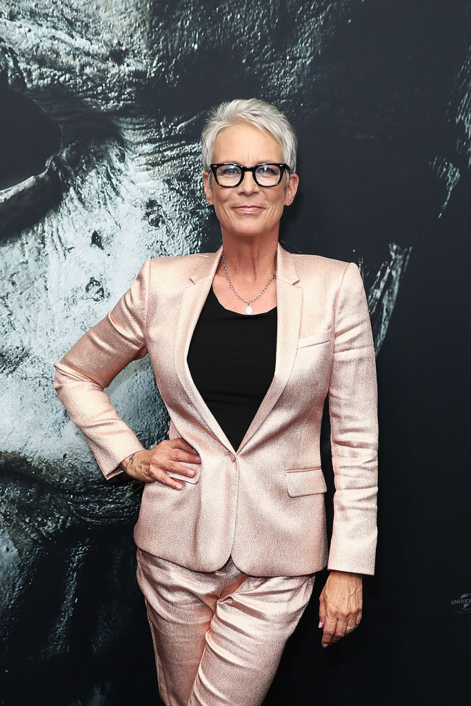 Jamie Lee Curtis attends the Australian Premiere of Halloween at Event Cinemas on October 23 in Sydney, Australia. (Getty Images)
