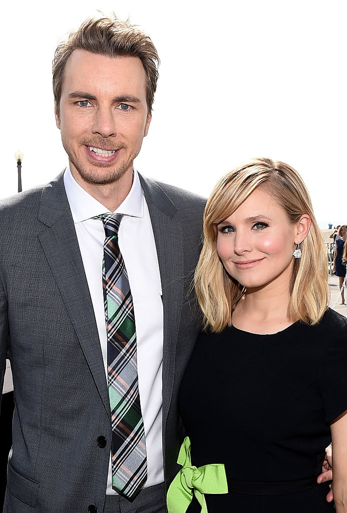 Kristen Bell and her husband Dax Shepard (Source: Getty Images)