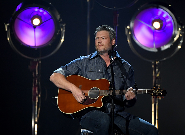 Blake is not allowed to appear for any other show other than 'The Voice'. (Getty Images)