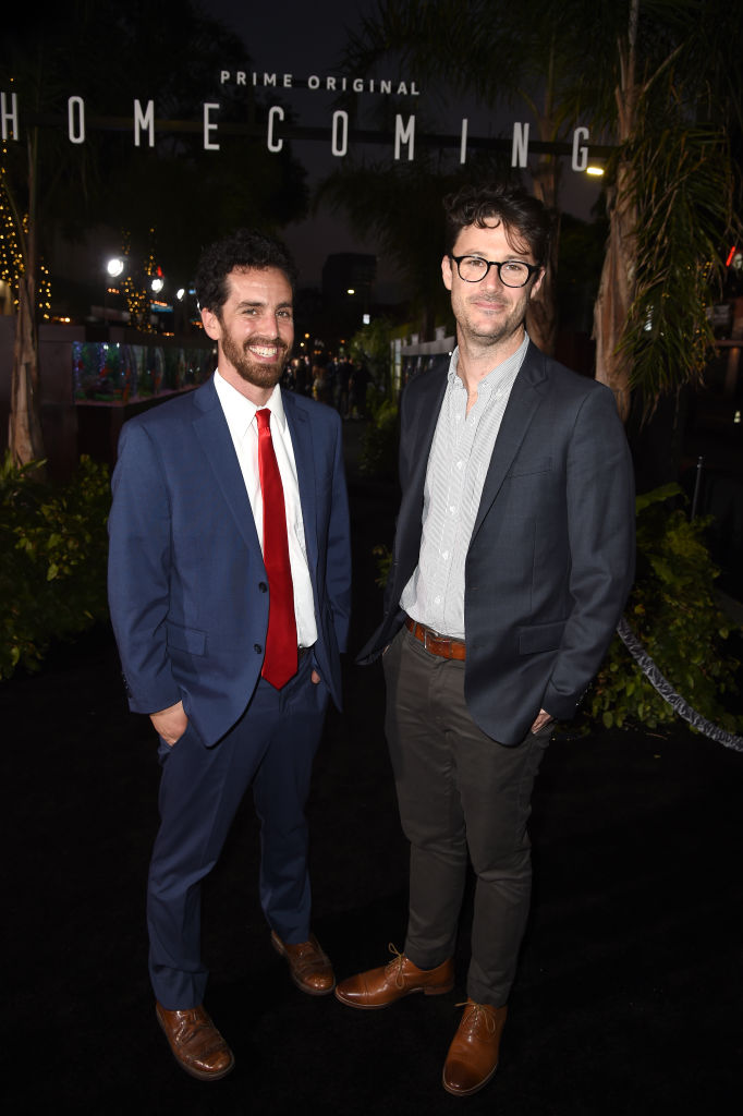 Co-creator/executive producer Eli Horowitz and Co-creator/executive producer Michah Bloomberg attend the premiere of Amazon Studios' 'Homecoming' at Regency Bruin Theatre on October 24, 2018 in Los Angeles, California. (Photo by Kevin Winter/Getty Images)