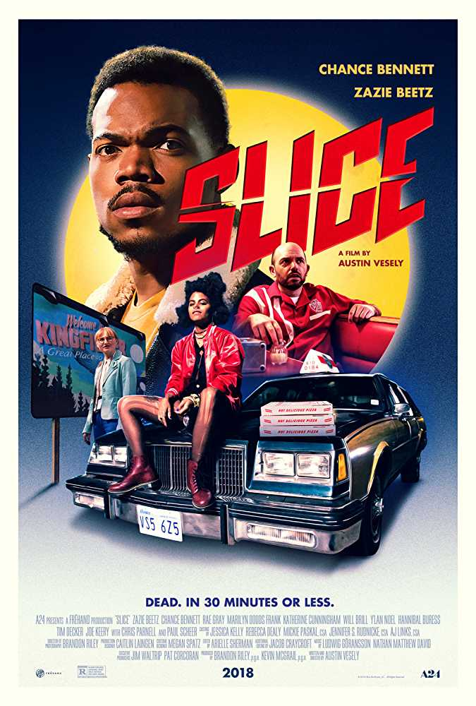 Official theatrical poster for 'Slice'.