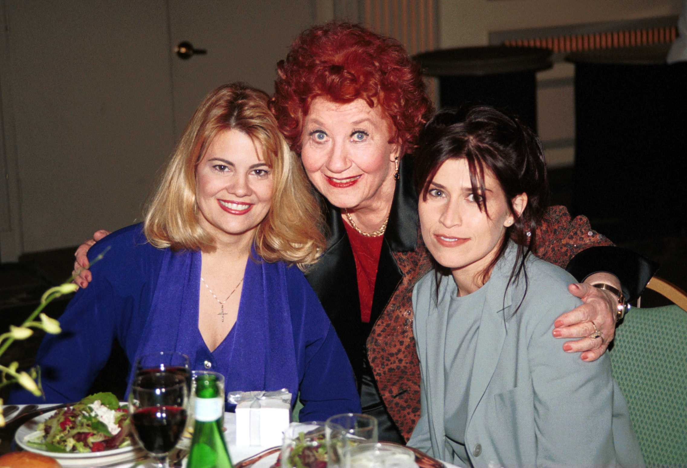 It was 'Facts of Life' time again when actresses Lisa Welchel, left, Charlotte Rae and Nancy McKeon reunited during the Third Annual Friends of CLARE Foundation Tribute Dinner to honor Charlotte Rae. The CLARE Foundation has been helping individuals, their families and loved ones gain sobriety and build healthy and productive lives in Los Angeles for thirty years. The event was held November 16, 2000 at the Fairmont Miramar Hotel in Santa Monica, CA.