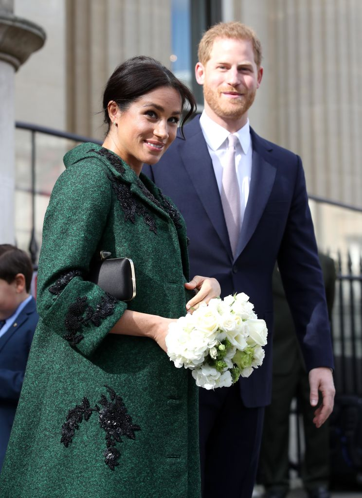 Meghan, Duchess of Sussex and Prince Harry, Duke of Sussex departs a Commonwealth Day Youth Event at Canada House on March 11, 2019 in London, England. (Photo by Chris Jackson - WPA Pool/Getty Images)
