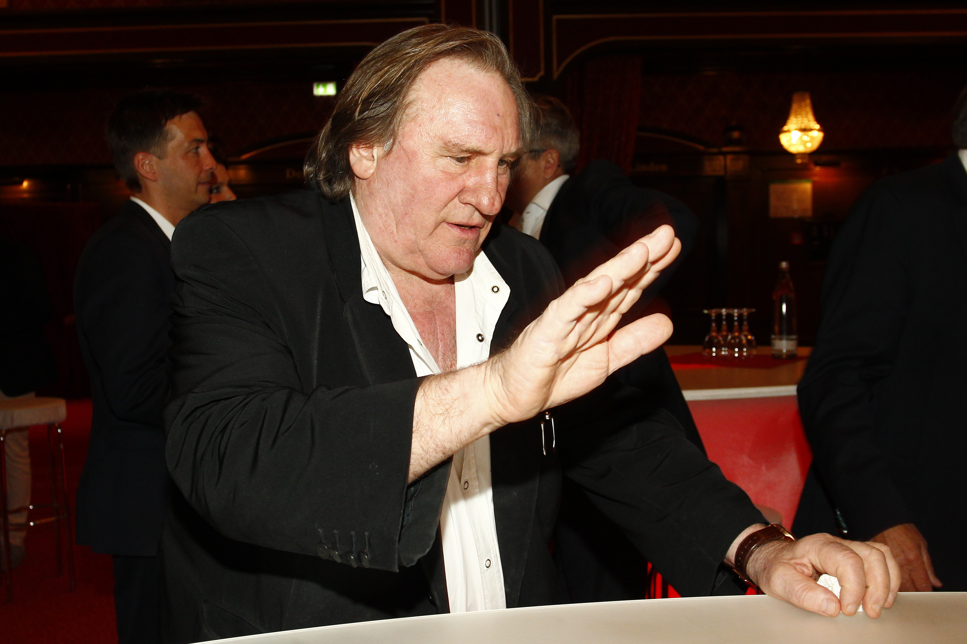 French actor Gerard Depardieu has been accused of raping a 22-year-old actress earlier this month (Photo credit: Getty Images)