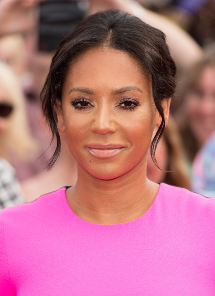 Mel B at the 'X Factor' Red Carpet in 2014 (Source: Getty Images)