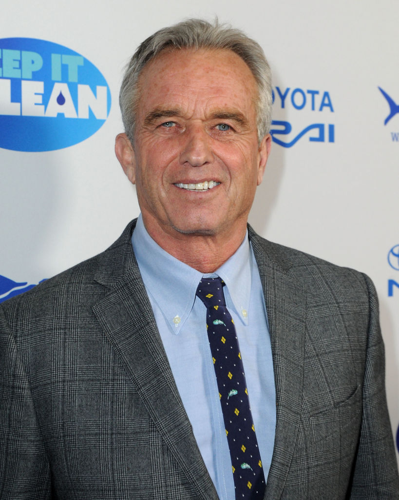 Robert F. Kennedy Jr. attends Keep It Clean Live Comedy To Benefit Waterkeeper Alliance on February 21, 2019 in Los Angeles, California. (Getty Images)