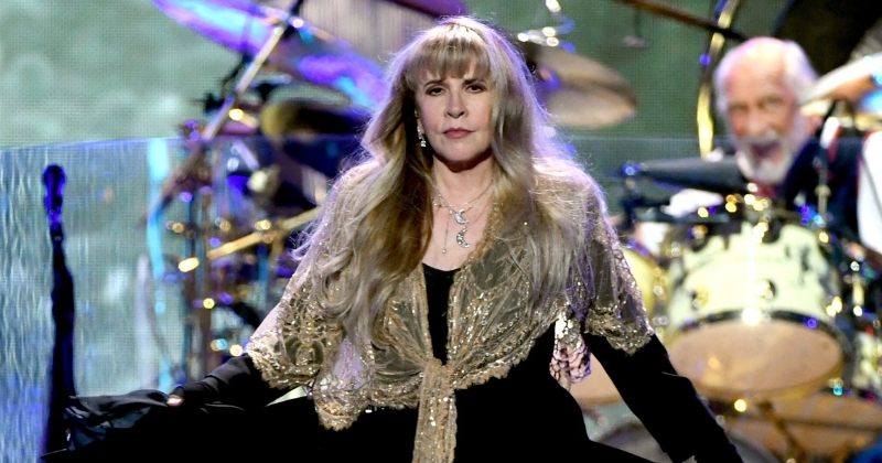 Stevie Nicks is now the only female artiste to have been inducted twice into the Rock and Roll Hall of Fame. (Getty Images)