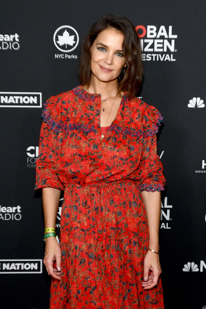 d21b5b2e5da Katie Holmes attends the 2018 Global Citizen Festival  Be The Generation in  Central Park on