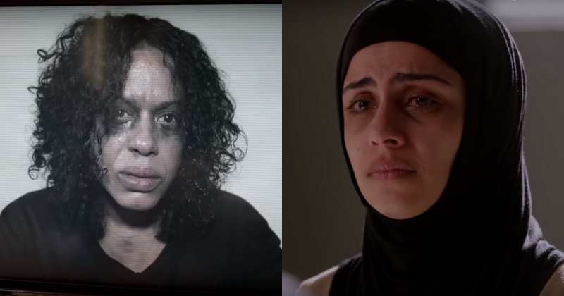 Liza Colón-Zayas as Lucia Rincon and Nishi Munshi as Sarah Bukhari (Screenshot Fox)