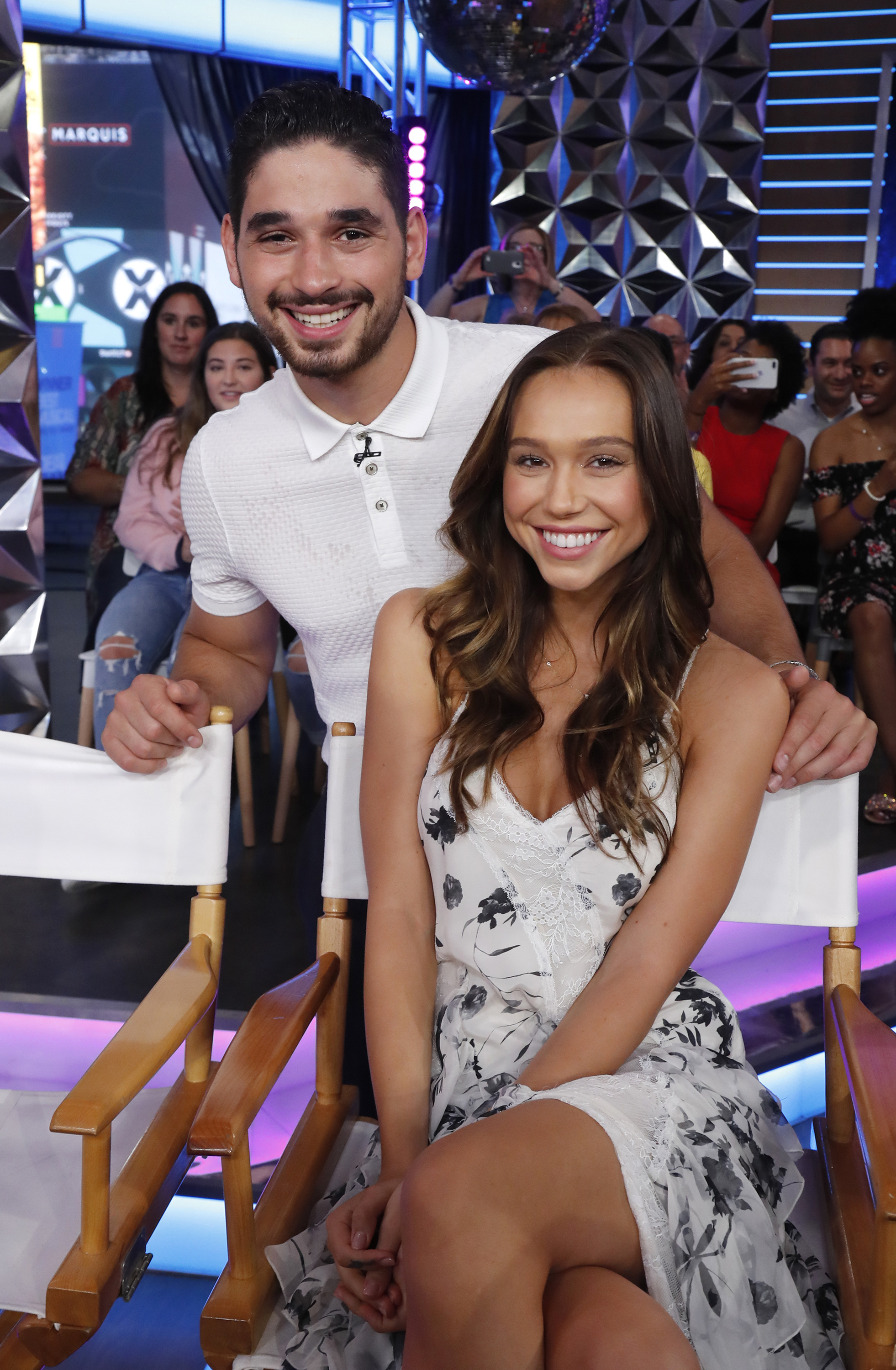 Alan Bersten and Alexis Ren from season 27 of 'Dancing with the Stars' (ABC/Lou Rocco)