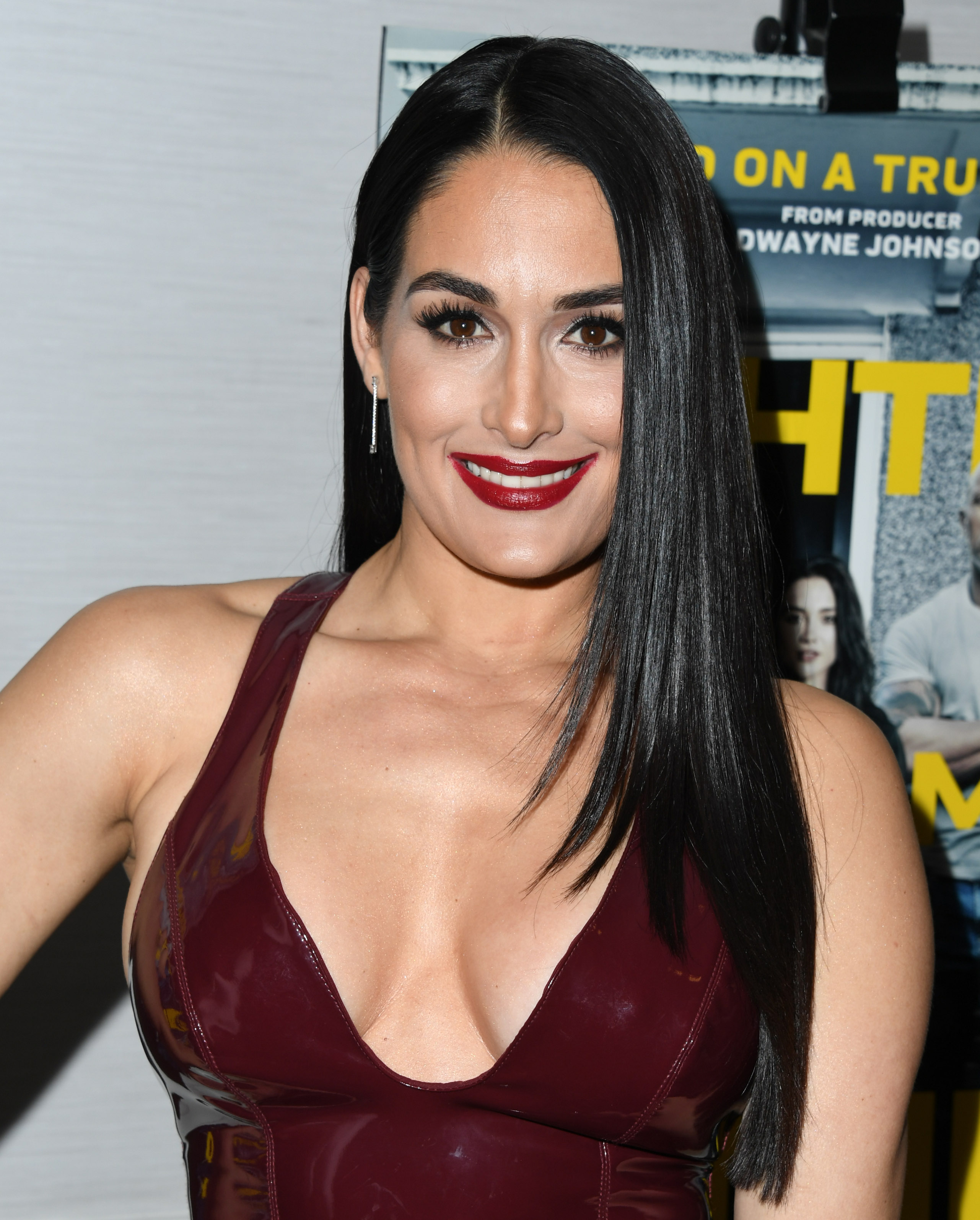 Nikki Bella attends 'Fighting With My Family' Los Angeles Tastemaker Screening at The London Hotel on February 20, 2019, in West Hollywood, California. (Getty Images)
